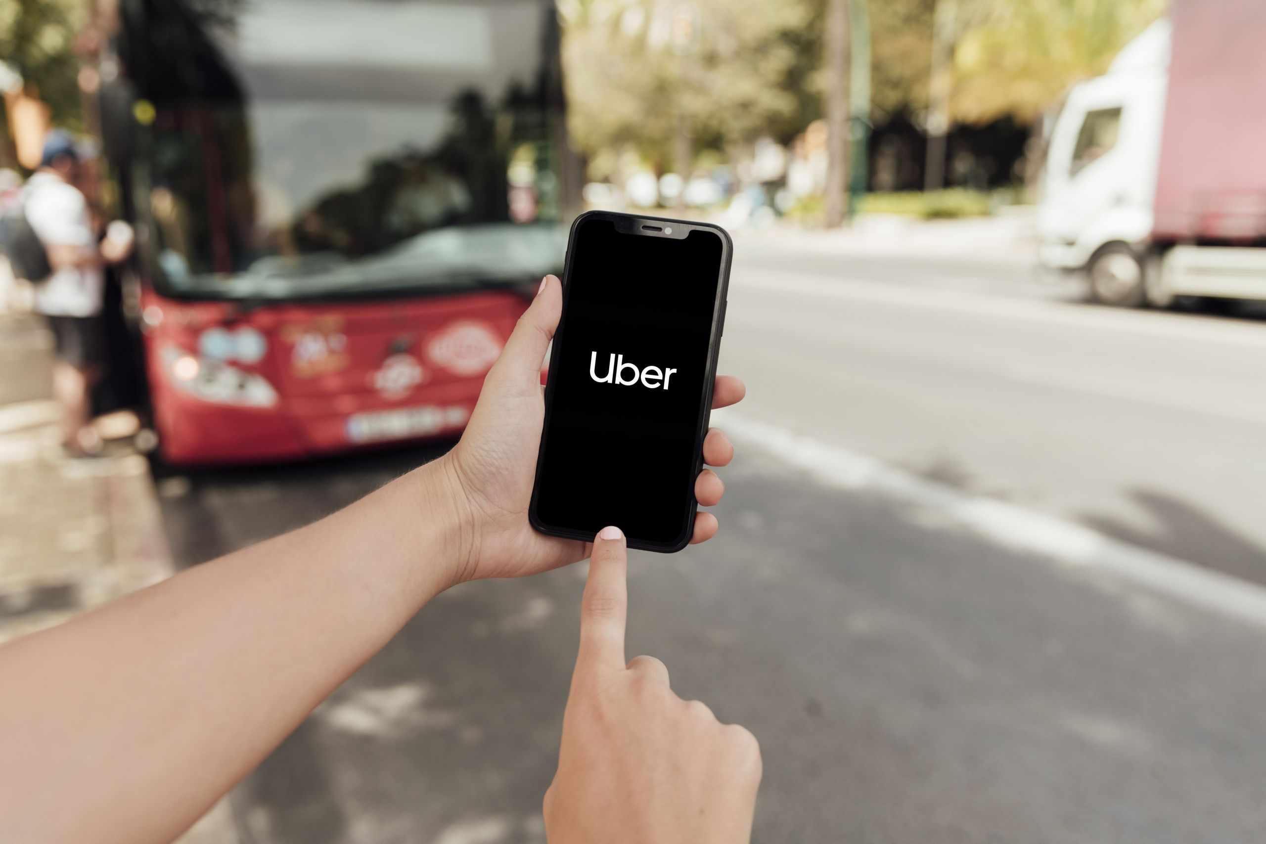 Uber ride sharing